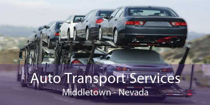 Auto Transport Services Middletown - Nevada