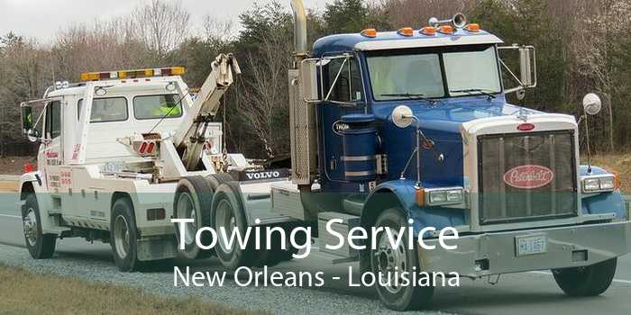 Towing Service New Orleans - Louisiana