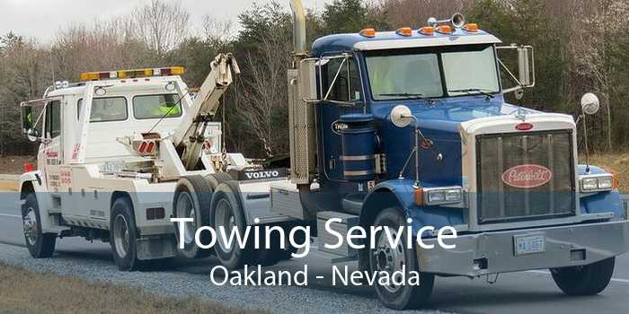 Towing Service Oakland - Nevada