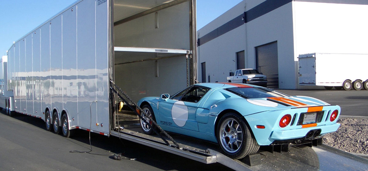 exotic car enclosed transport