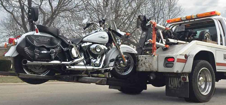 motorcycle towing cradle