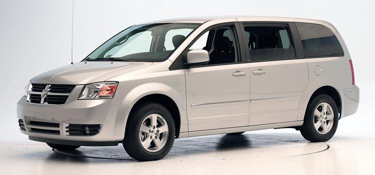 junk 2008 Dodge Grand Caravan