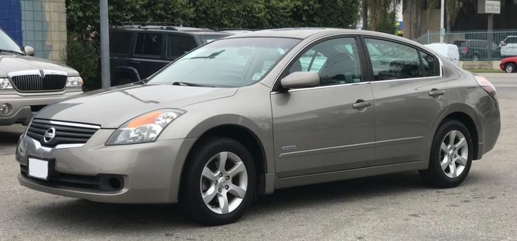 Cash For Nissan Altima 2007